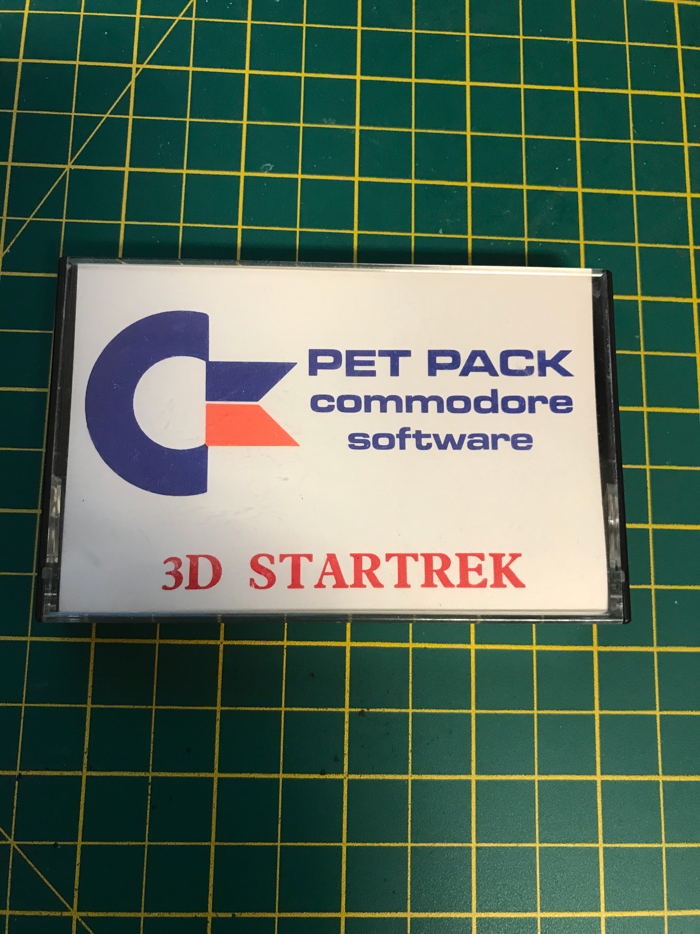 Commodore PET star trek 3d original